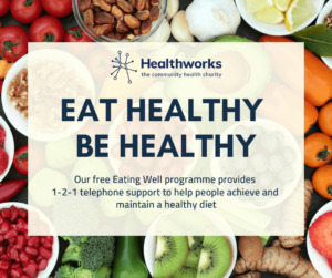 eat healthy be healthy words