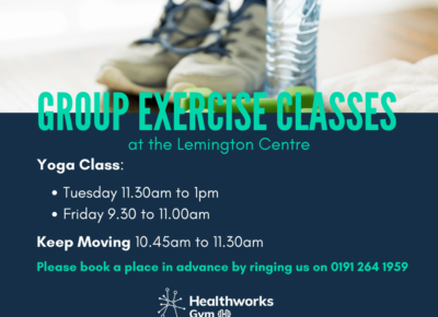 Read more about Exercise classes have restarted at The Lemington Centre