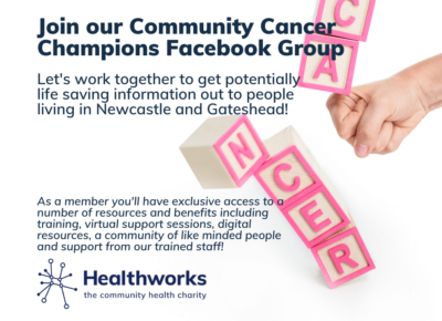 Read more about Join our Community Cancer Champions facebook group