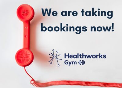 Read more about Our gyms are re-opening today!