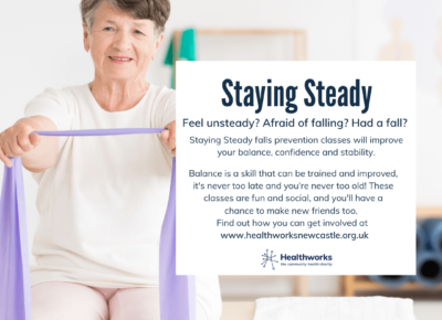 Read more about Have you had a fall or do you feel at risk from having a fall?